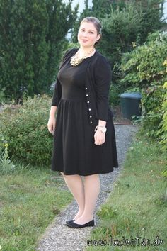 18.09.12 - wearing: H dress, H cardi, The Cherry Brand ballerinas, H necklace and Michael Kors watch