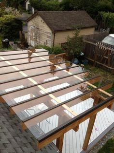 Cuando la luz natural es un factor importante, las cubiertas de vidrio son soluciones ideales para cualquier terraza. www.tecniamadera.es Espacios para vivir y disfrutar.