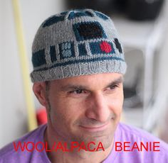 Etsy Droid beanie - Turn your head into R2D2 with a simple hat! No, you are never too old for this.