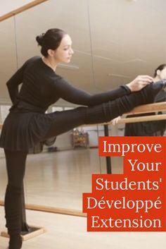Dancer Flexibility: Improve Your Students' Développé Extension Dance Tips, Dance Lessons, Dance Moves, Ballet Class, Dance Class, Ballet Dance, Dance Movement, Ballroom Dance, Dance Studio