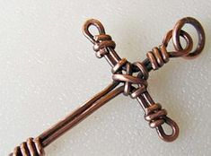 Wire Wrapped Cross Tutorial – Jewelry Pinn