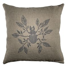 #Kudde Skalbagge #oddbirds #cushion #bug