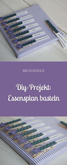 Küchen-DIY: Essensplan What should I cook today?