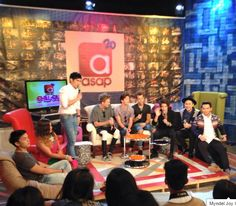 "The Vamps on the TV Show ""asap"" #TheVampsBand <3 :)"