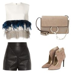 """""""Night out"""" by lilyks on Polyvore featuring Balenciaga, Dsquared2 and Chloé"""