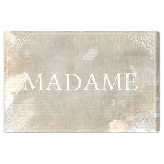 Madame Canvas Print, Oliver Gal at Joss and Main
