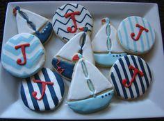Nautica cookies by Kiwi's Kookies