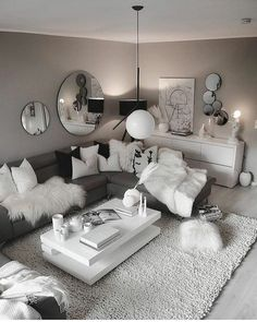 home accessories advertising Have a amazing evening lovely ers! Have a wonderful evening dear ones! Living Room Decor Cozy, Rooms Home Decor, Living Room Grey, Home Living Room, Apartment Living, Bedroom Decor, Cozy Apartment, Apartment Ideas, Bedroom Ideas