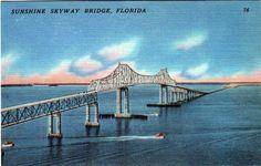 Sunshine Skyway Bridge Disaster Old Skyway Bridge The