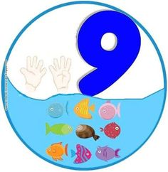 SGBlogosfera. María José Argüeso: Números Numbers Preschool, Math Numbers, Alphabet And Numbers, Preschool Classroom, Preschool Crafts, Kindergarten, Animated Numbers, Funny Numbers, Teaching Aids