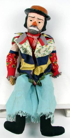Vintage Emmett Kelly Willie Clown Ventriloquist Dummy Doll by Juro My Collection~Oz~ Dummy Doll, Emmett Kelly, Ventriloquist Dummy, Scary Dolls, 1980s Toys, Clowning Around, Tin Toys, Gi Joe, Vintage Toys
