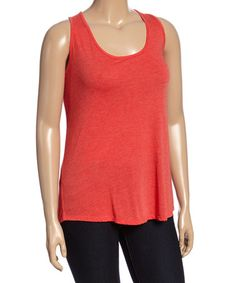 This Red Swing Tank - Plus is perfect! #zulilyfinds