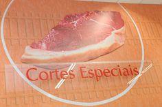 Design e Projeto de loja   Comunicação Visual   Detalhe: placa Cortes Especiais  Savegnago - São Carlos-SP