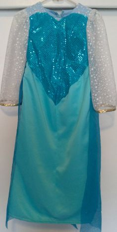 Disney's Frozen Inspired Snowqueen Elsa Dress/Cosplay Costume For Girls-Made to Order