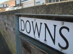 My Street sign well a bit of it
