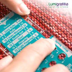 Combo Gauge. Knitter's Multitool | Etsy Needle Gauge, Double Knitting, Needles Sizes, Creative Studio, Gauges, Swatch, Wraps, How To Make, Etsy