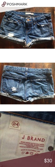 J Brand Shorts Good used condition J Band denim shorts. J Brand Shorts Jean Shorts