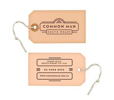 Common Man - Restaurant by Josip Kelava, via Behance