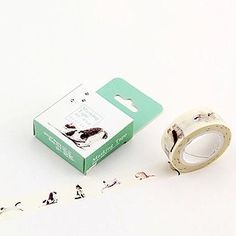 Buy Cute Essentials Decorative Tape at YesStyle.com! Quality products at remarkable prices. FREE WORLDWIDE SHIPPING on orders over US$35.