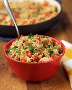 One-Pot Chicken & Rice