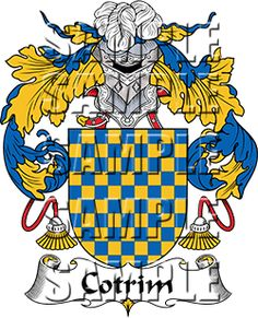 Cotrim Family Crest apparel, Cotrim Coat of Arms gifts