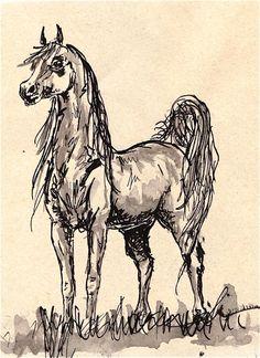 Horse, art.