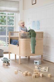 Sebra Kili Baby en Junior Bed Wooden Edition - Hout