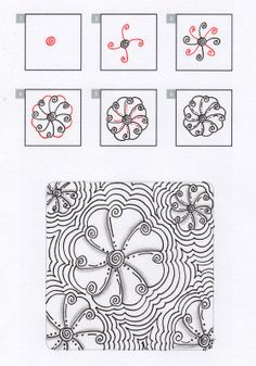 Laralina's tutorial: Phansy by Laura Williams, Certified Zentangle Teacher