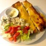 Enchiladas mit Reis und Salat | kulinarisch38.de