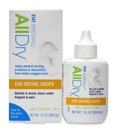 ENT Essentials All Dry Ear Drying Drops, 1 Fluid Ounce: All Dry Ear Drying Drops quickly and simply clear trapped water from ears after swimming, showering, bathing or washing your hair. Safe, effective and fast acting. Fluid In Ears, Clogged Ears, Hearing Problems, Ear Drops, Ear Infection, Vestidos