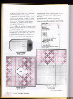 Kitty Chef Tissue Box Cover 2/4