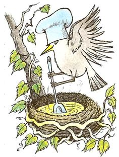 'May' by Maurice Sendak from his book 'Chicken Soup with Rice: A Book of Months' (Harper  Row, 1962)