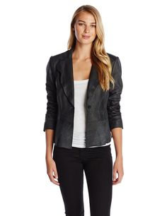 Elie Tahari Women's Sally Leather Jacket >>> READ REVIEW @ http://www.getit4me.org/fashion100/1581/?971