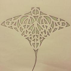 stingray tribal tattoo designs - Google Search