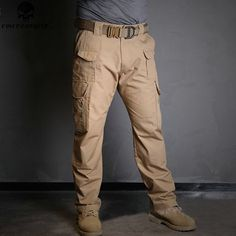 58.55$  Watch now - http://alib37.worldwells.pw/go.php?t=32751762431 - EMERSON Militar Tactical Cargo Pants Men Combat Army Military Pants Sweatpants Outdoor All-weather Hunting Trousers EM7033