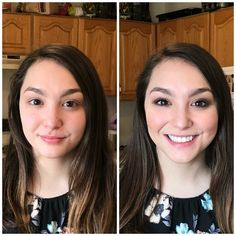 maskcara beauty before and after makeover sunlit highlight ash