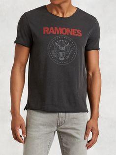 Ramones 40 Graphic Tee - John Varvatos
