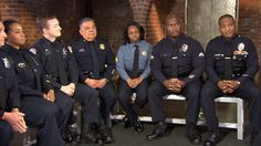 Police from around the US speak candidly about tensions on streets. #Blue Lives Matter