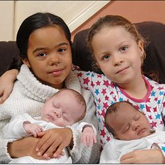Biracial Couple Gives Birth To Twins One Black One White Good