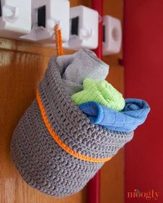 11 FREE Crochet Basket Patterns