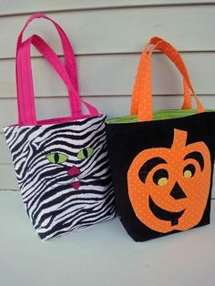 DIY Halloween : DIY Trick-or-Treat Bags