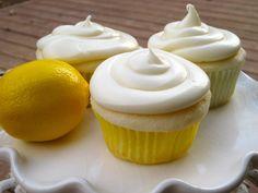 Muffins de Pay de Limón