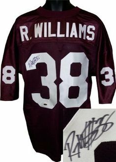 Roy Williams signed Oklahoma Sooners Custom Maroon Jersey .  200.07. Roy  Williams was a starter on the undefeated 2000 Oklahoma Sooners team which  won 2000 ... a80507556