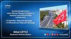 Cumhurbaşkanımız Sn. Recep Tayyip Erdoğan'ın açılışını gerçekleştirdiği Köprülü Kavşaklarımız. Hayırlı Olsun.