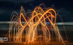 Fire Art - Pinned by Mak Khalaf Photo taken by me. Abstract beachbeautifulbrazilcanoncloudsfireghostguarujalightlong exposurenightoceanpraiasandseaseascapeskystarssummersão paulotombotravelwaterwaves by enzo_junginger Fire Art, More Photos, Opera House, Abstract, Summary, Opera