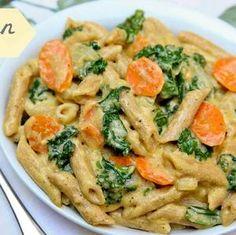 Best Vegan Recipe Ever – Pasta with Kale in Lemon Cashew Sauce