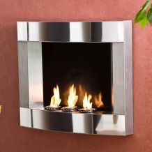 @Overstock - Wall-mount fireplace requires no assembly, just hang on the wall like a picture Indoor fireplace burns FireGlo gel fuel or scented candles Decorative accessory add a rich, fiery ambiance to your homehttp://www.overstock.com/Home-Garden/Stainless-Steel-Wall-Mount-Fireplace/4042652/product.html?CID=214117 $222.74