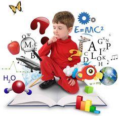 Esta imagen representa todas las potencialidades que traen consigo los niños y es nuestro deber creer en ellos.