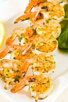 Fat-Free Cajun Shrimp Kabobs