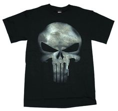 The #Punisher T-shirt for men and teens